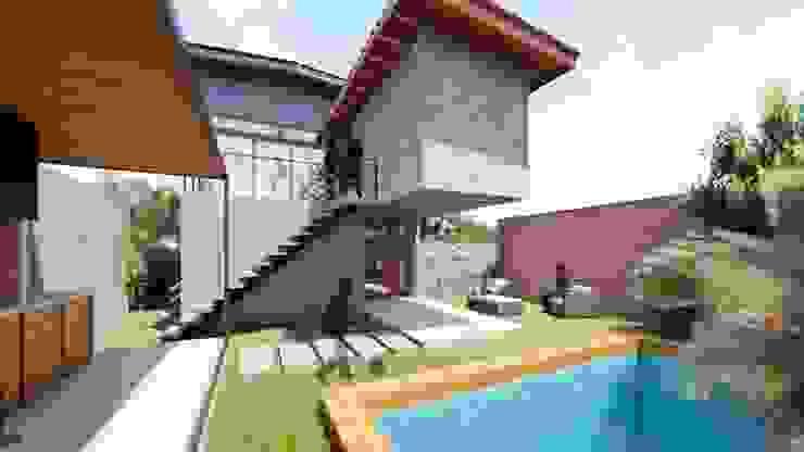 Modern style gardens by Proyecta Design Modern