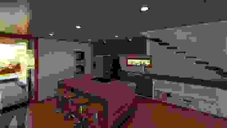 Modern style kitchen by Proyecta Design Modern