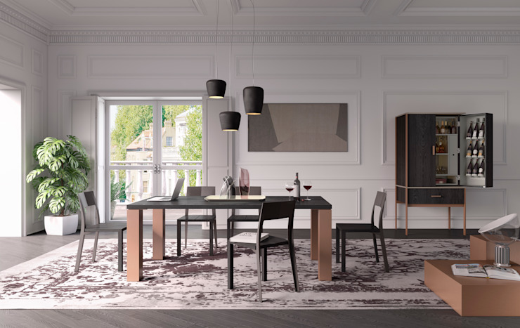 Dining room by ELITE TO BE SRL,