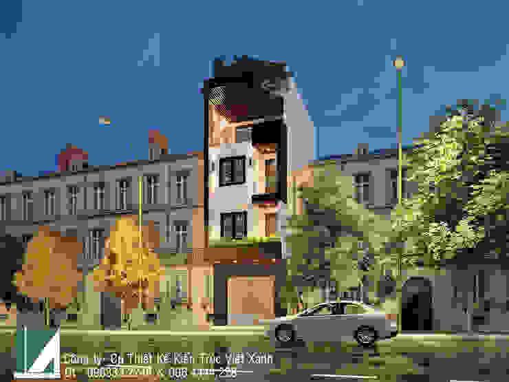 NHÀ PHỐ 4 TẦNG - QUÁN NAM - LÊ CHÂN - HẢI PHÒNG bởi Kiến trúc Việt Xanh