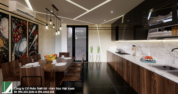 NHÀ PHỐ 4 TẦNG – QUÁN NAM – LÊ CHÂN – HẢI PHÒNG bởi Kiến trúc Việt Xanh