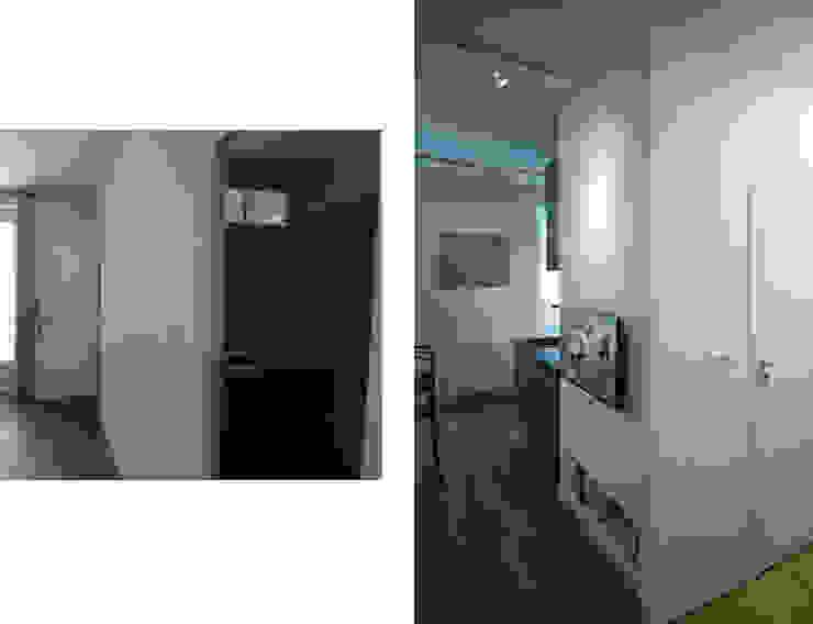 Fables de murs Soggiorno moderno MDF Bianco
