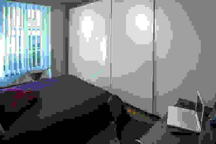 Fables de murs Camera da letto piccola Bianco