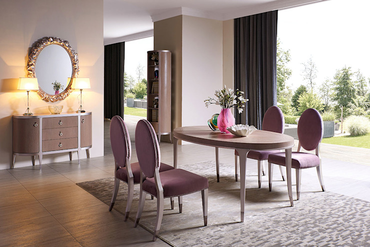 Столовая Modena Столовая комната в классическом стиле от Fratelli Barri Классический