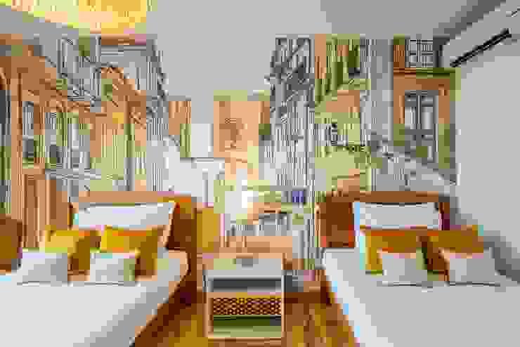 Sé - Casa Amarela - Lisboa por EMME Atelier de Interiores