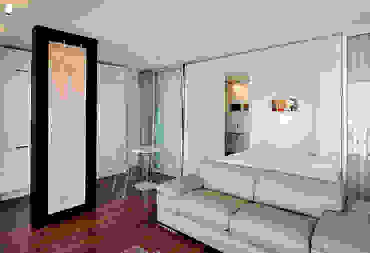 Modern living room by Fables de murs Modern Stone