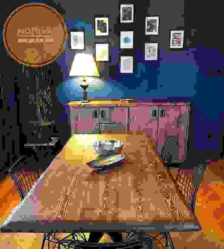Asya Ağaç Masa Mozilya Mobilya Yemek OdasıMasalar