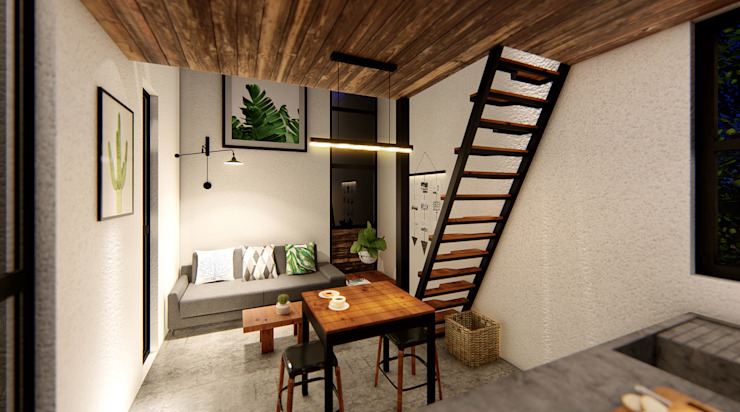 Indigo Diseño y Arquitectura의 열렬한 , 휴양지 콘크리트