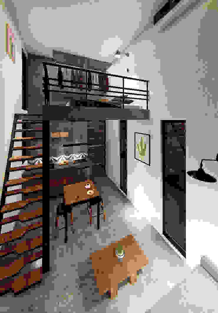 Indigo Diseño y Arquitectura의 열렬한 , 휴양지 철근 콘크리트