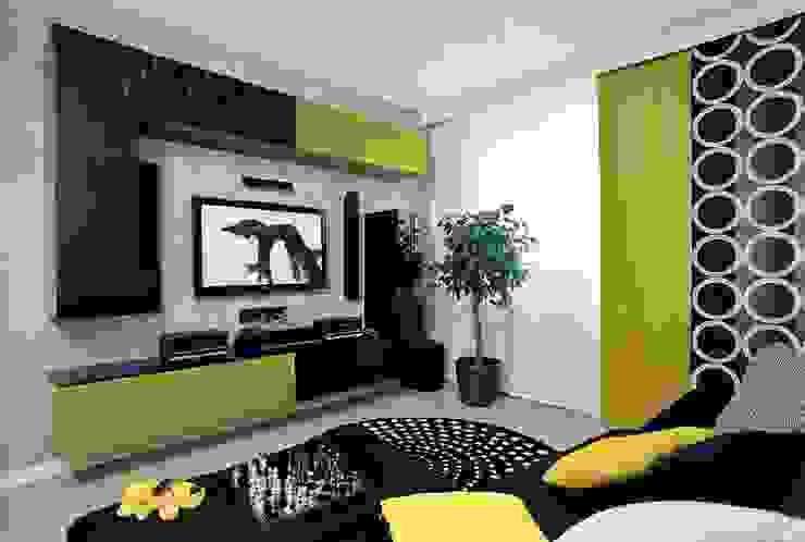 Eklektik Oturma Odası Irina Yakushina Eklektik