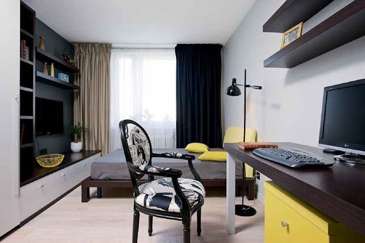 Minimalist Yatak Odası Irina Yakushina Minimalist