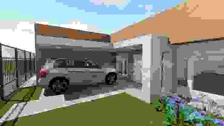 remodelacion de fachada Aida tropeano& Asociados Casas modernas: Ideas, imágenes y decoración