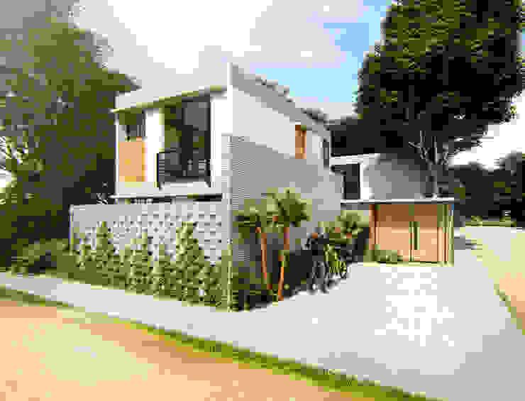 bởi Indigo Diseño y Arquitectura Nhiệt đới Bê tông cốt thép