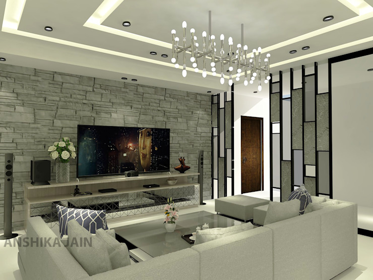 Living room by Inaraa Designs, Modern