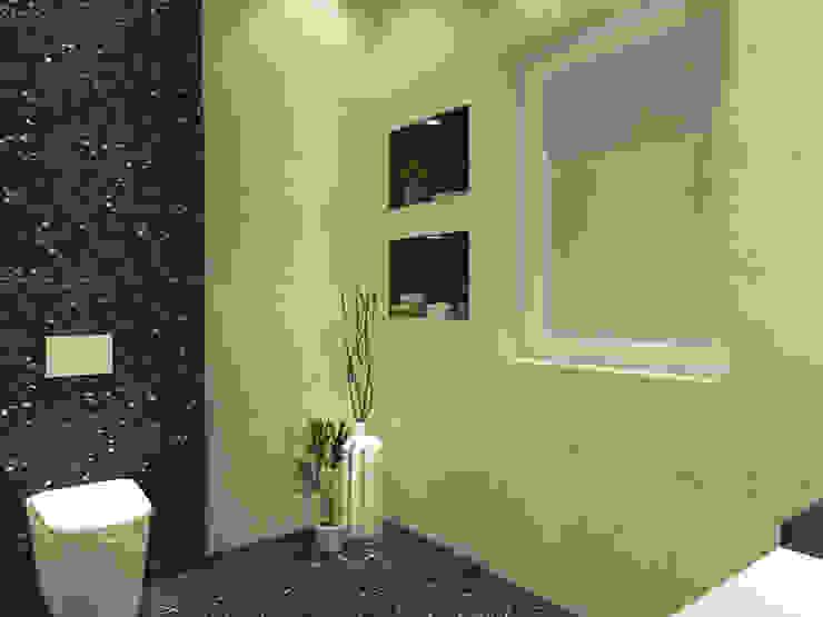 Powder Room Modern bathroom by Inaraa Designs Modern