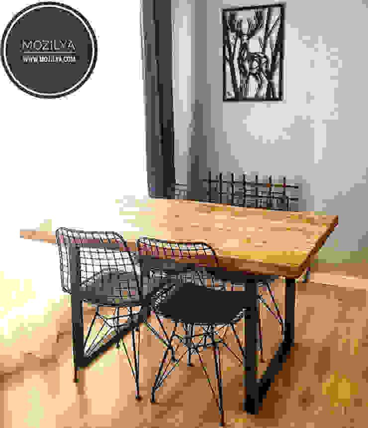Ceviz Ağacı Mutfak Masası Mozilya Mobilya MutfakMasa & Oturma Grupları