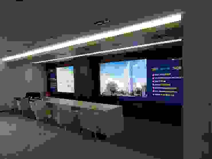 주거-영등포 오피스텔 모델하우스 모던스타일 서재 / 사무실 by DB DESIGN Co., LTD. 모던