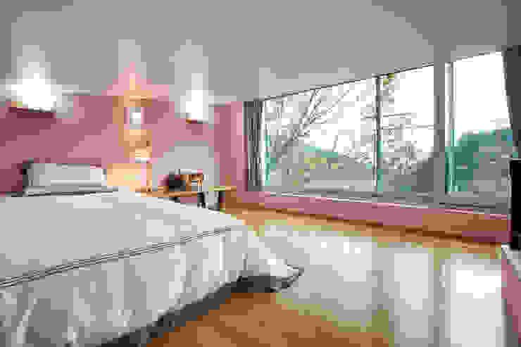 bi-house 모던스타일 침실 by 웰하우스종합건축사사무소 모던