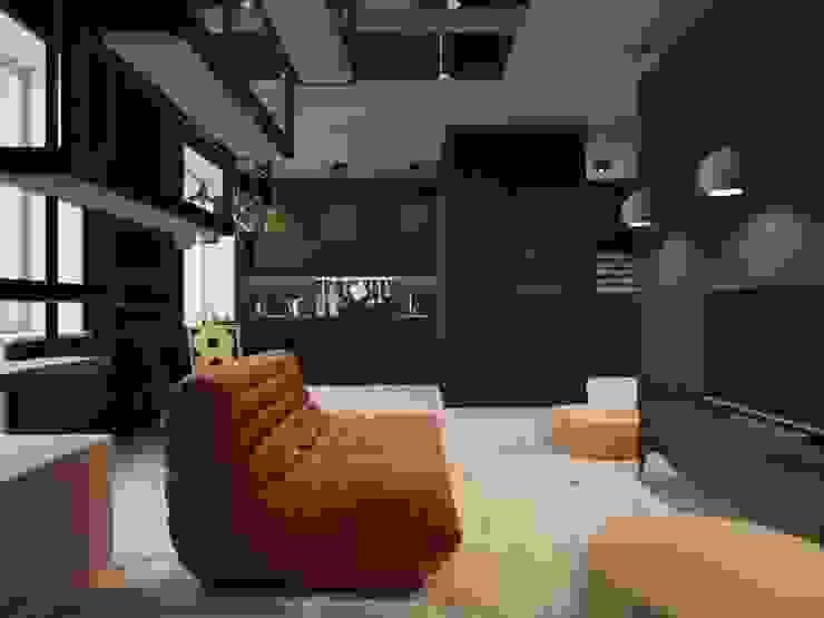 Minimalistische Wohnzimmer von Irina Yakushina Minimalistisch