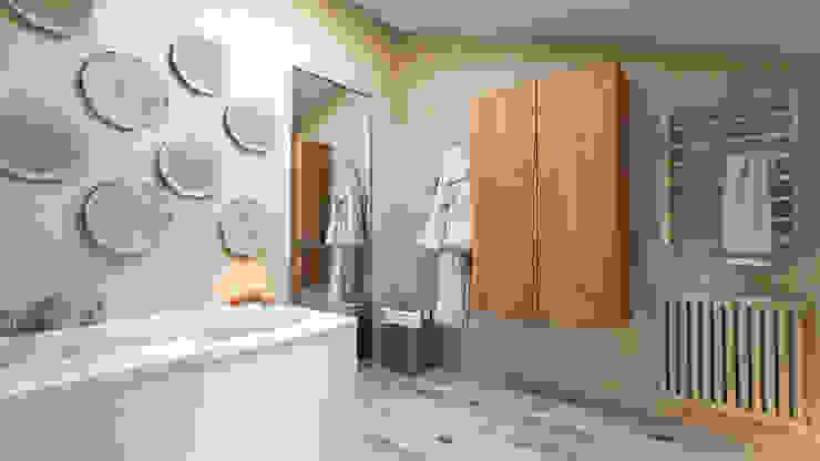 Rustikale Badezimmer von Irina Yakushina Rustikal