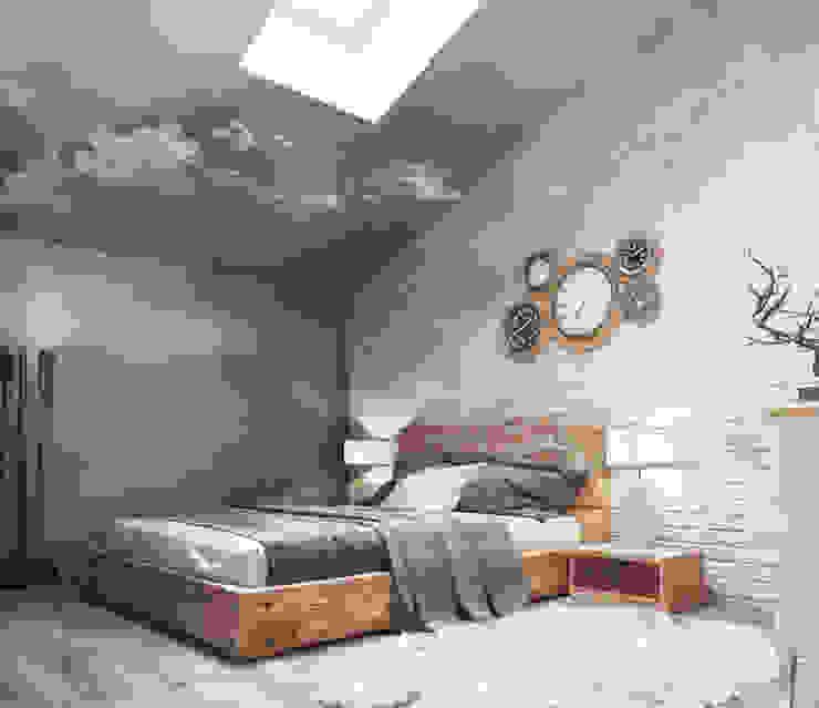 Industriale Schlafzimmer von Irina Yakushina Industrial