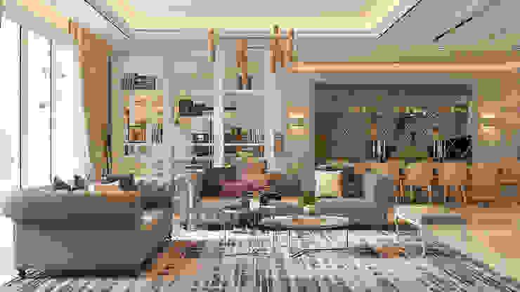 Serai Bukit Bandaraya, Bangsar Norm designhaus Living room