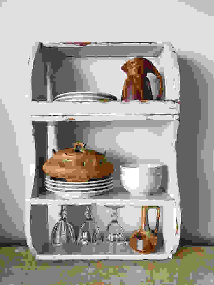 Maisondora Vintage Living CozinhaArmários e estantes Madeira Branco
