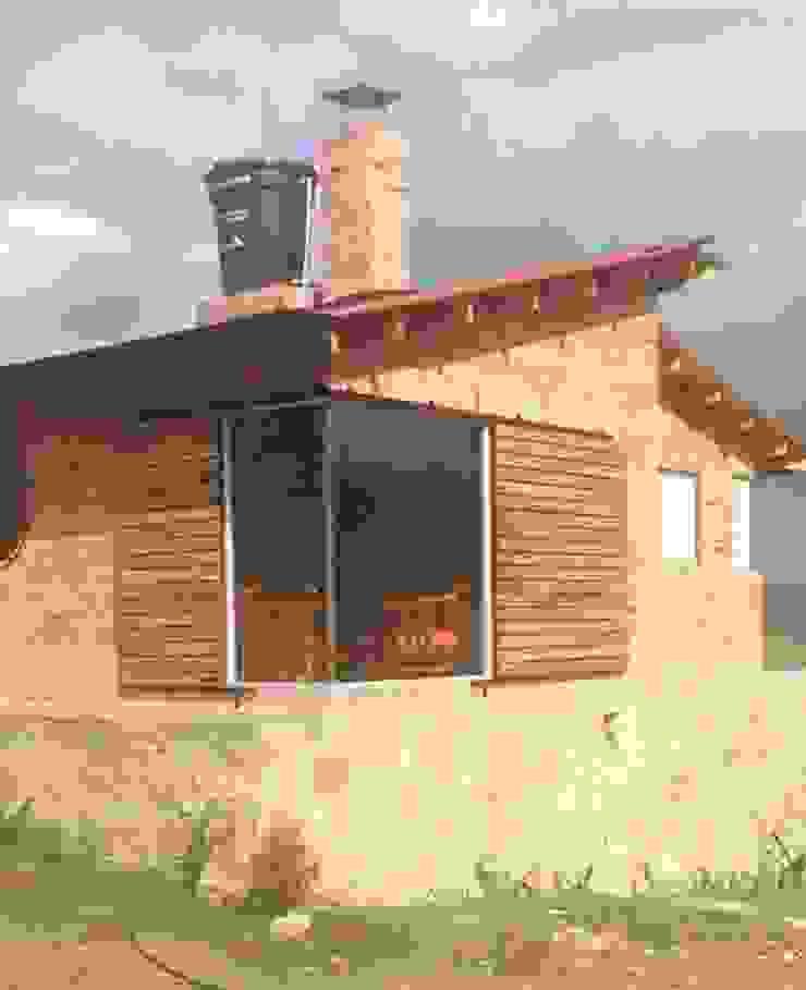 Proyecto casa de descanso Simijaca - Cundinamarca de Lopez Robayo Arquitectos Rural Ladrillos