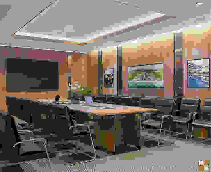 Phòng họp ban kinh tế - View2 bởi Công ty CP nội thất Miền Bắc Hiện đại