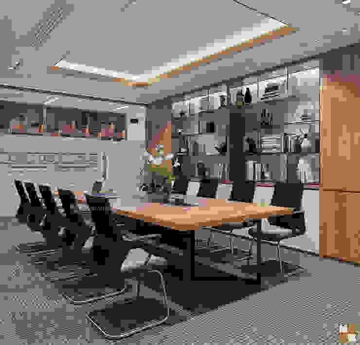 Phòng họp trung tâm tư vấn - View2 bởi Công ty CP nội thất Miền Bắc Hiện đại