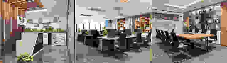Lễ tân - Phòng làm việc - Phòng họp bởi Công ty CP nội thất Miền Bắc Hiện đại
