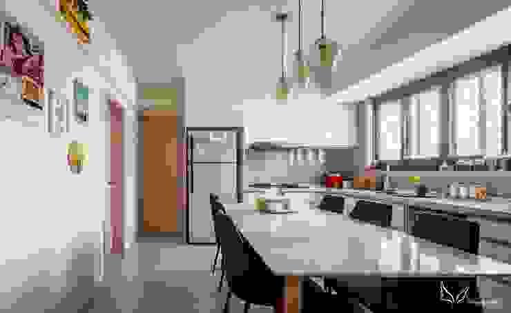 廚房 根據 FEELING室內設計 簡約風