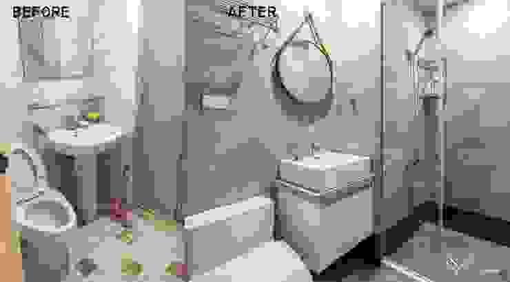 浴室 根據 Feeling 室內設計 北歐風
