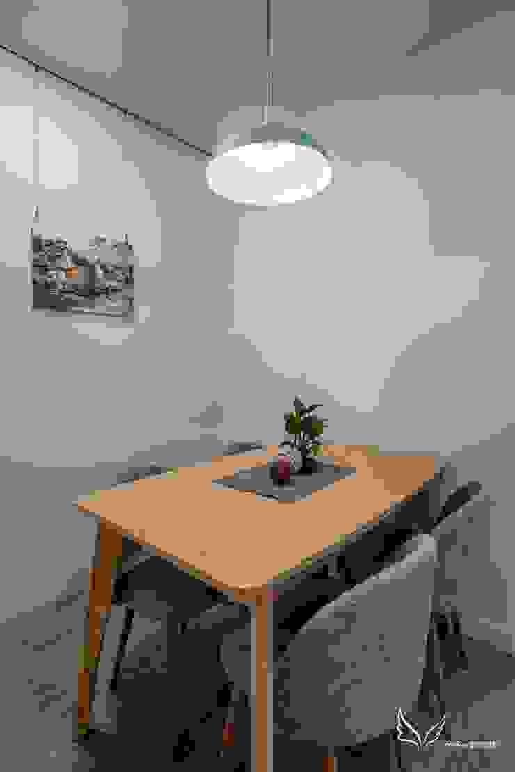 餐桌: 斯堪的納維亞  by Feeling 室內設計, 北歐風