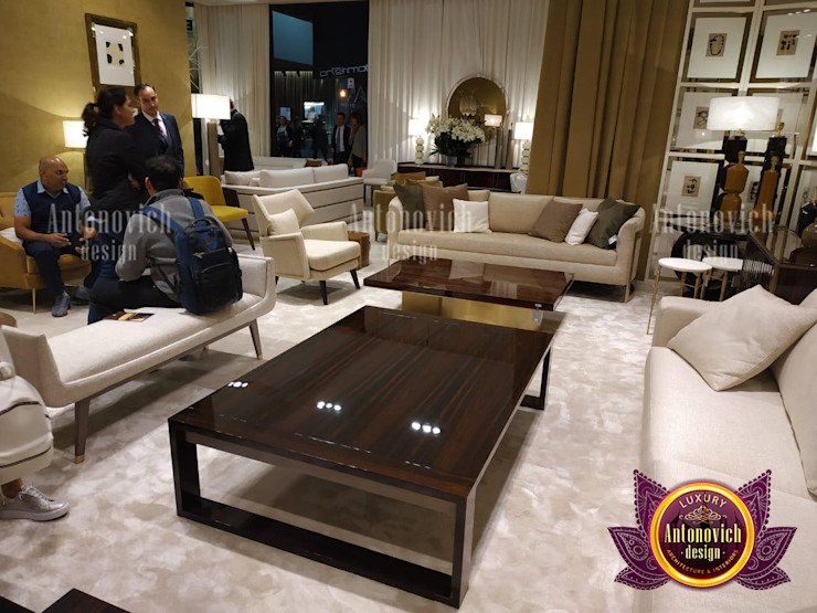 Incredible Unique Furniture in UAE by Luxury Antonovich Design