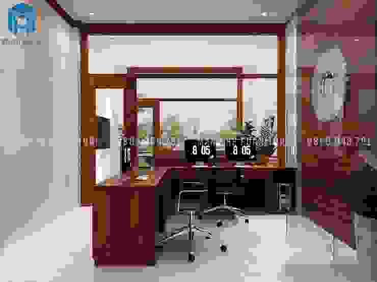 Designer Phòng học/văn phòng phong cách hiện đại bởi Công ty TNHH Nội Thất Mạnh Hệ Hiện đại MDF