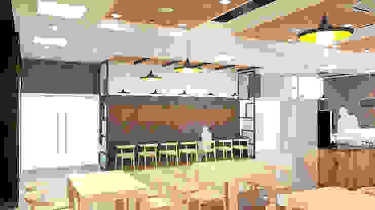 식음시설-총신대학교 학생/교직원 식당 by DB DESIGN Co., LTD. 러스틱 (Rustic)