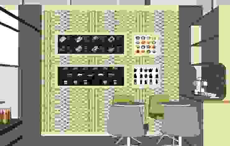 식음공간-카페 메뉴얼 모던 스타일 바 & 클럽 by DB DESIGN Co., LTD. 모던