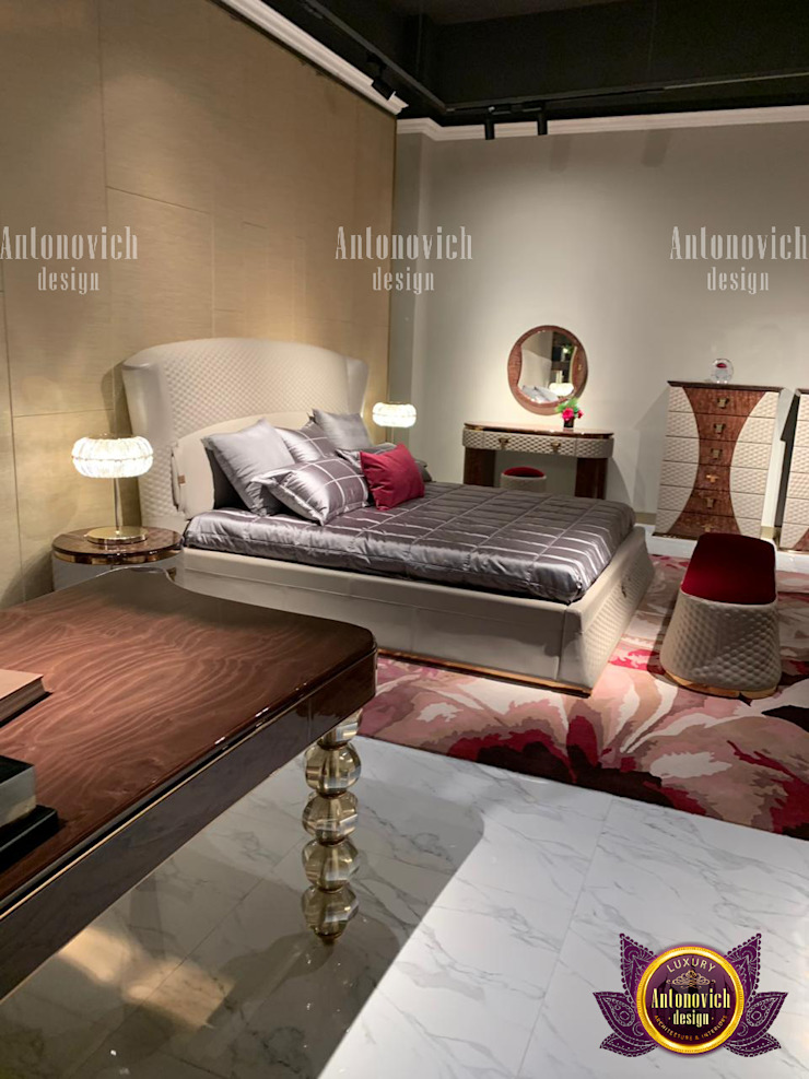 Furniture Pieces of Elegance by Luxury Antonovich Design