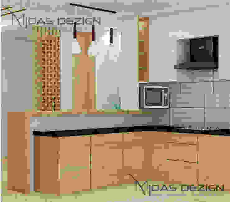 Open kitchen by Midas Dezign Modern