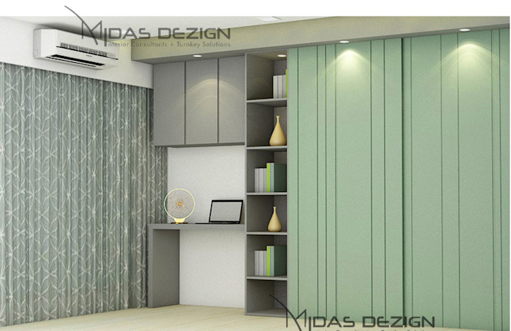 Master Bedroom by Midas Dezign Modern