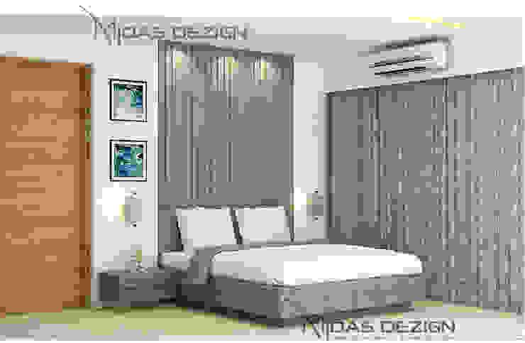 Master Bedroom Modern style bedroom by Midas Dezign Modern