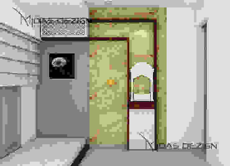 Bedroom with Mandir by Midas Dezign Modern