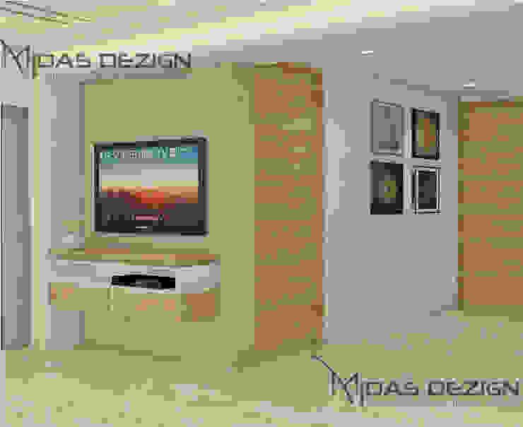 Corridor Modern corridor, hallway & stairs by Midas Dezign Modern