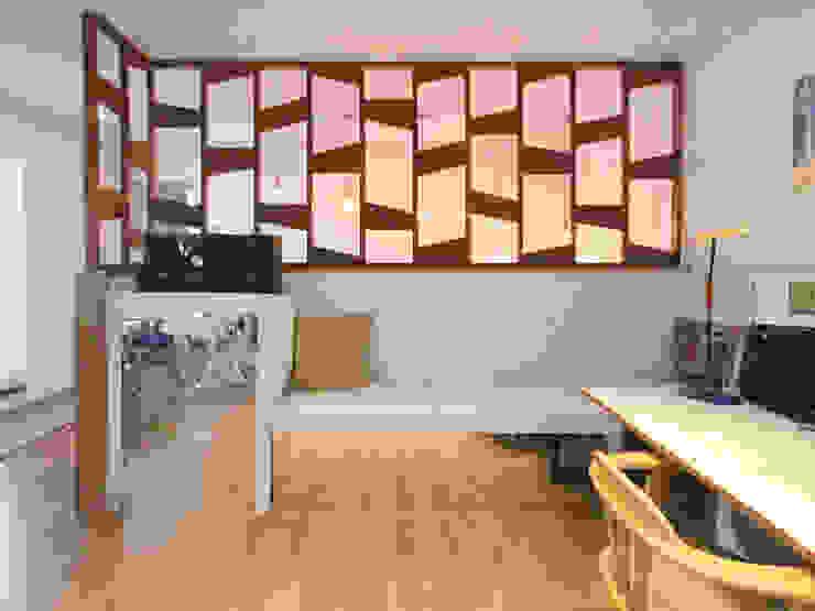 CASA COMODO 모던스타일 미디어 룸 by 이우 건축사사무소 모던