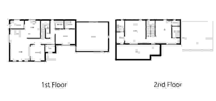 CASA COMODO: 이우 건축사사무소의 현대 ,모던
