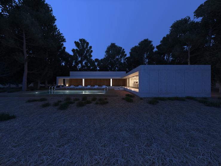 by martimsousaemelo Minimalist Reinforced concrete