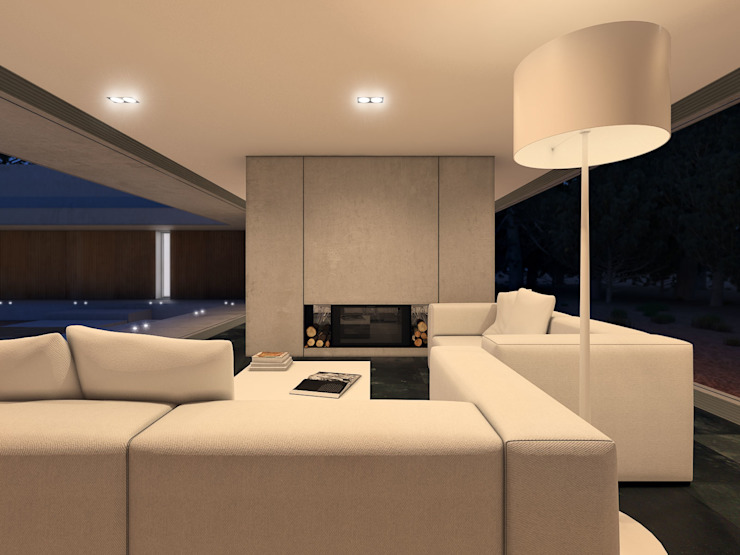 Minimalist living room by martimsousaemelo Minimalist