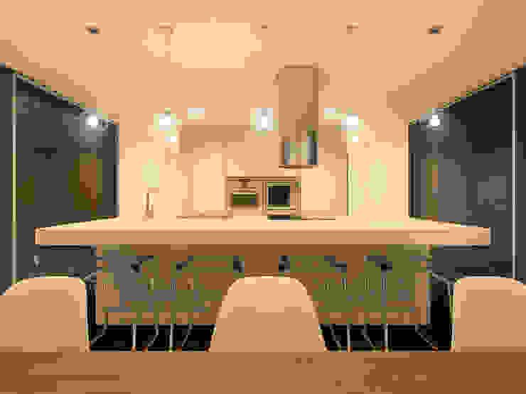 Minimalist kitchen by martimsousaemelo Minimalist