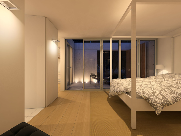 Minimalist bedroom by martimsousaemelo Minimalist